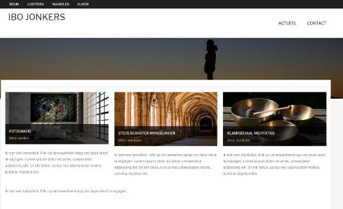 Website voor klankmeditatie en stiltewandelen